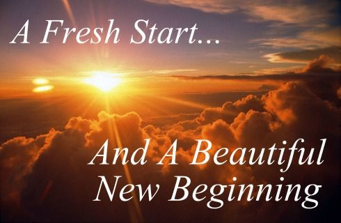 fresh start new year saying