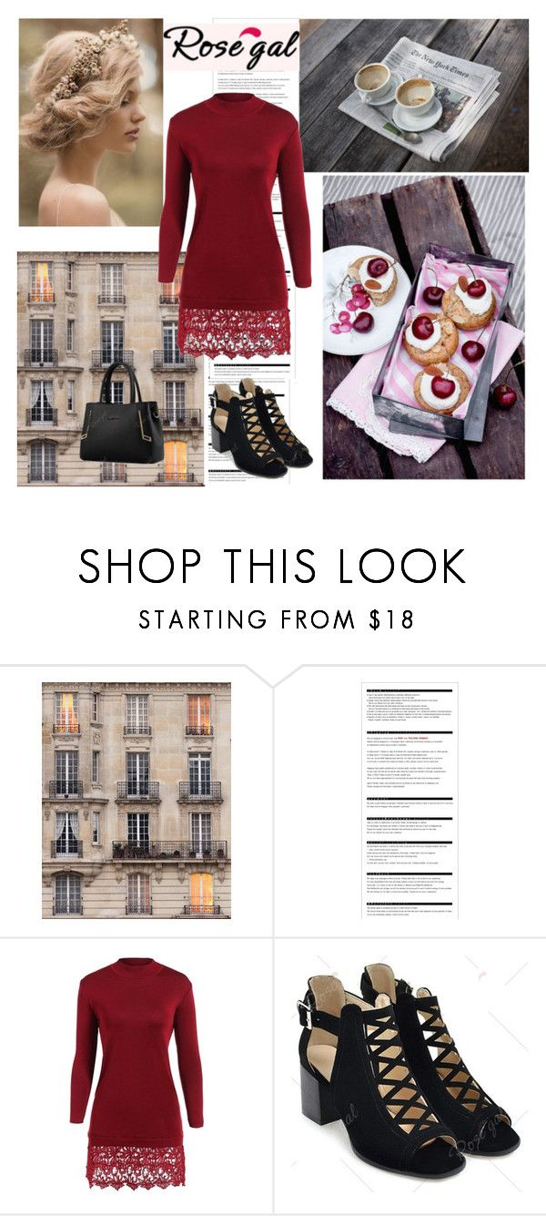 """""""Rosegal IV"""" by antonija2807 ❤ liked on Polyvore featuring WALL, Arche, pretty, jeans and rosegal"""