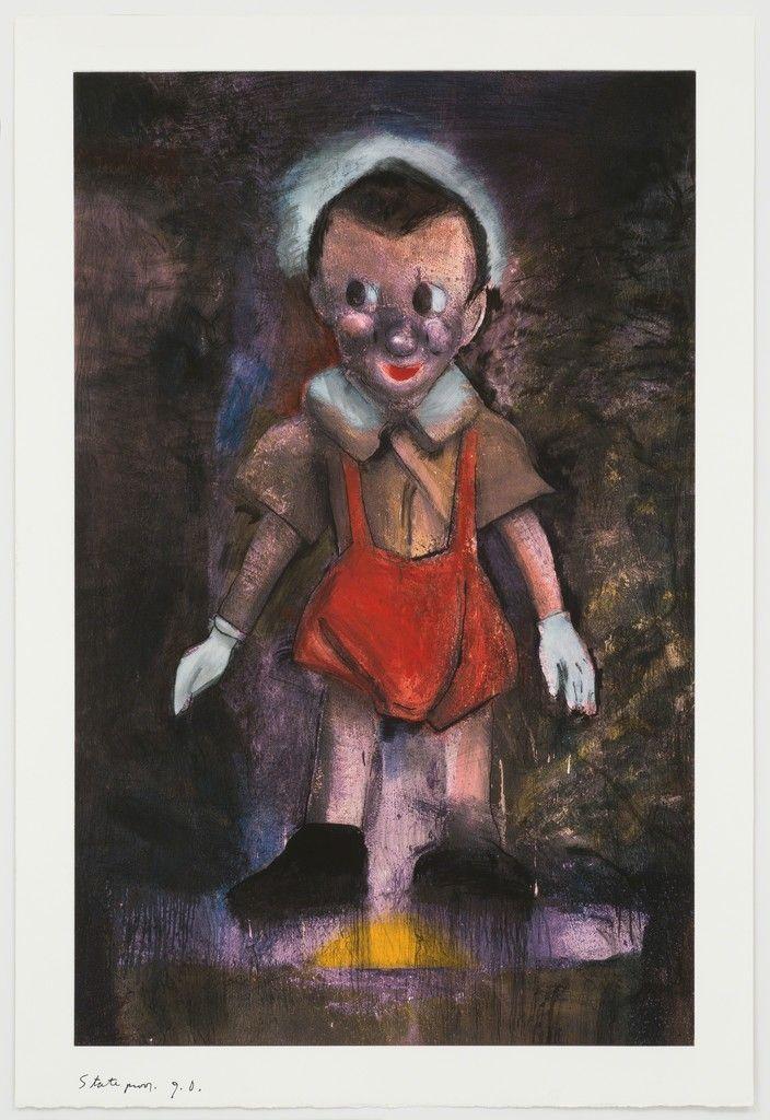 Pinocchio (Different Color Version) | Jim Dine, Pinocchio (Different Color Version) (1998)