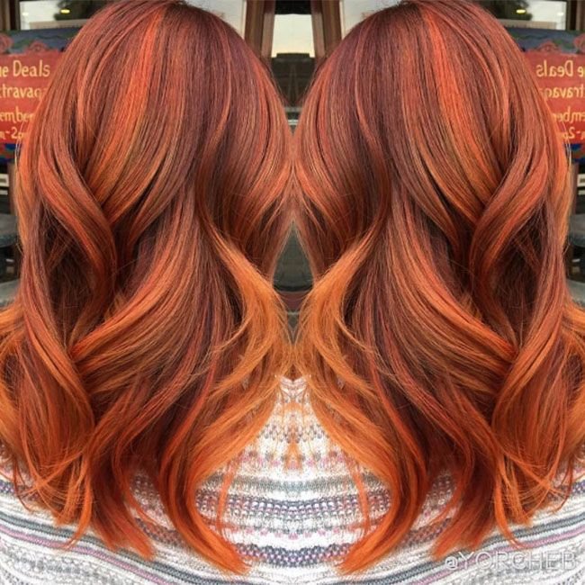 Sehr Pumpkin spice hair is our new favourite autumn beauty trend | Hair  BC62