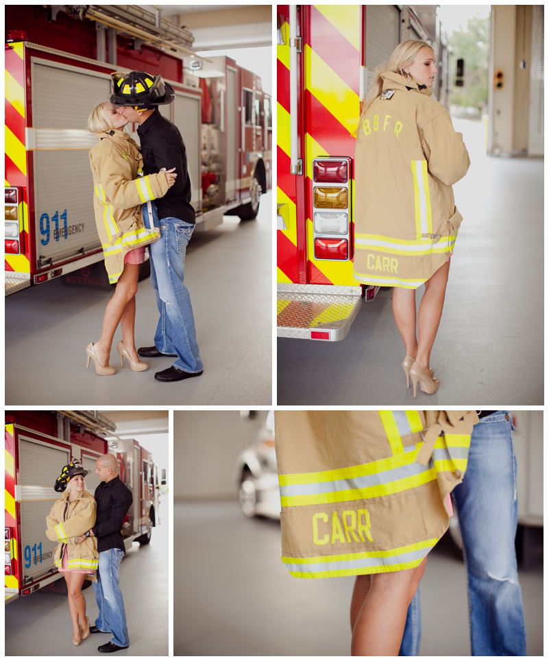 Firefighter Engagement Photos