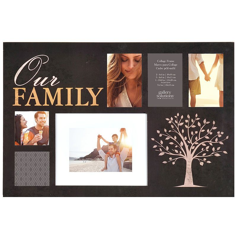 Our Family Photo 6 Opening Collage Picture Frame Products In 2018