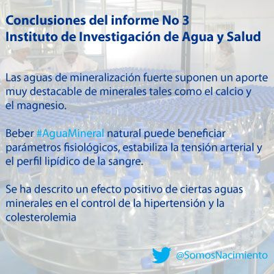 Conclusiones Del Informe No 3 Del Instituto De