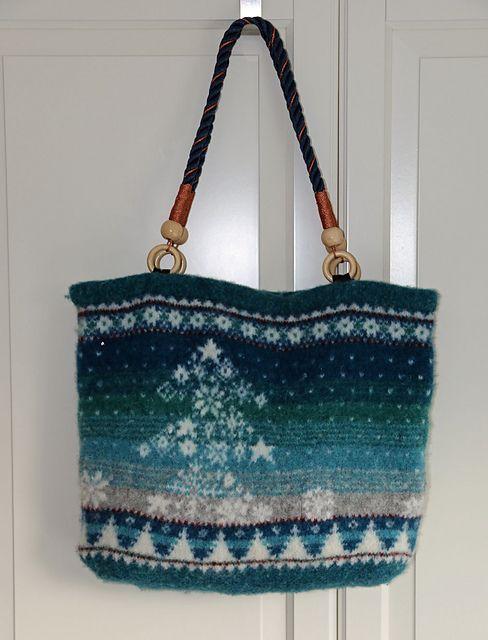 Ravelry: Willewolle's Winter Woollies Bag