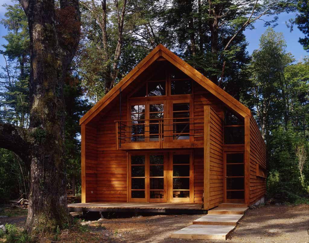Caba a galp n en el sur de chile arquitectura - Casas rurales de madera ...