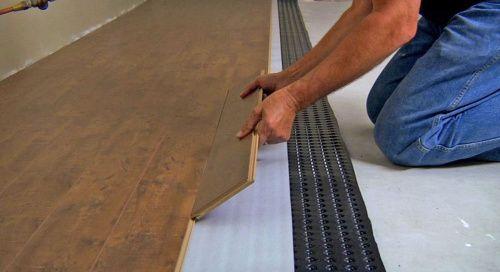Platon Underlayment Moisture Protection For Subfloors Underlayment Rubber Flooring Flooring Underlayment