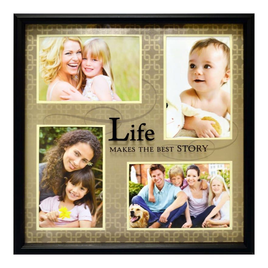 New View Life Makes The Best Story 4 Opening Collage Frame