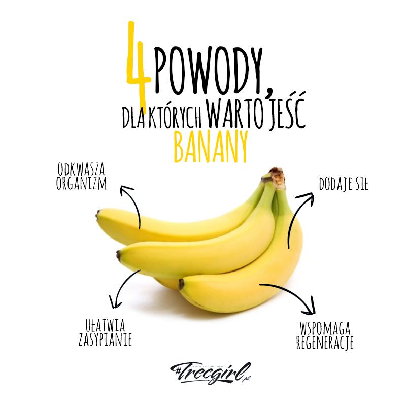 Czy można schudnąć jedząc same banany