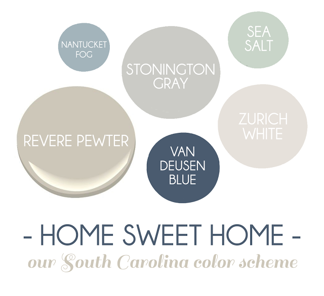 our south carolina color scheme.