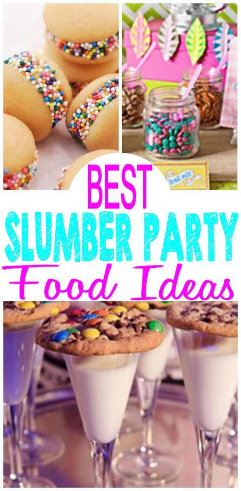 Party Snacks For Teens Sleepover 46+ Best Ideas