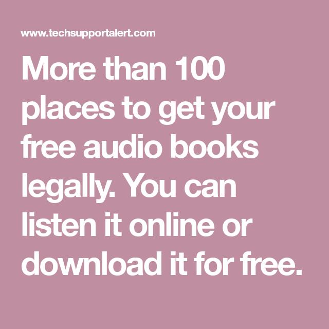 free audio books online download