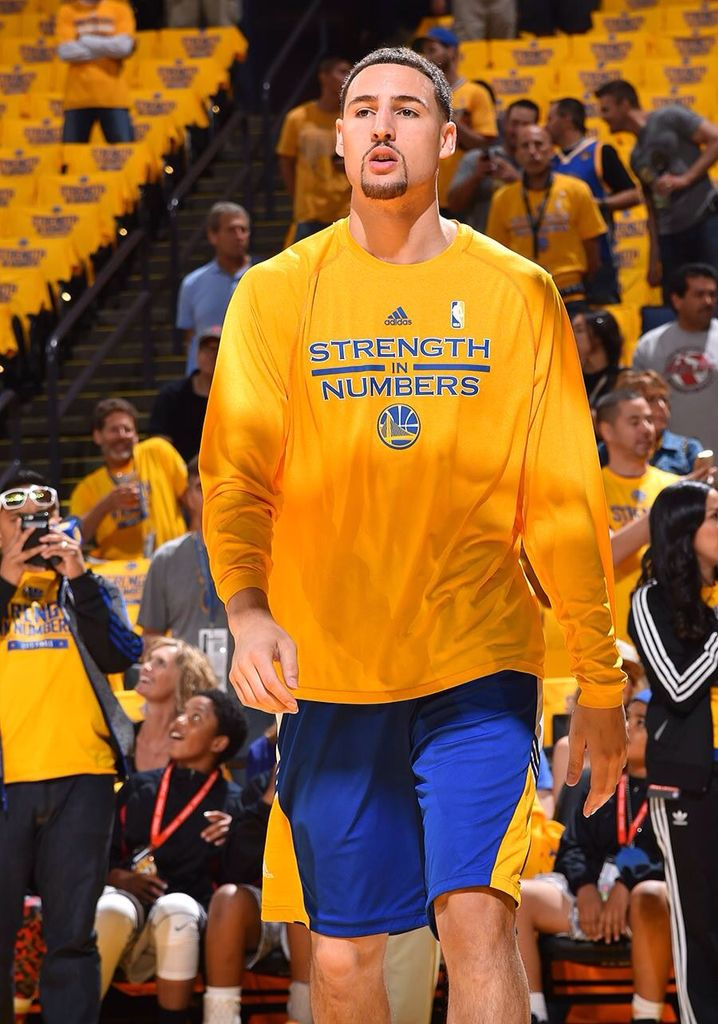 1 of 5 starters ... Game 5 ... Clay Thompson