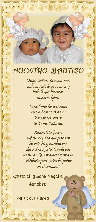 Pin En Bautizo Sebastian