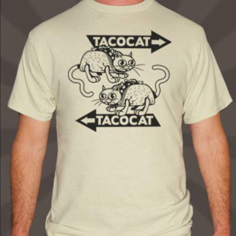 Men TacoCat Either Way T-Shirt by Teesandra4u on Etsy