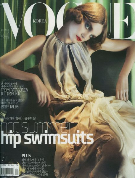 Natalia Vodianova Throughout The Years In Vogue Natalia Vodianova Vogue Korea Vogue Photo