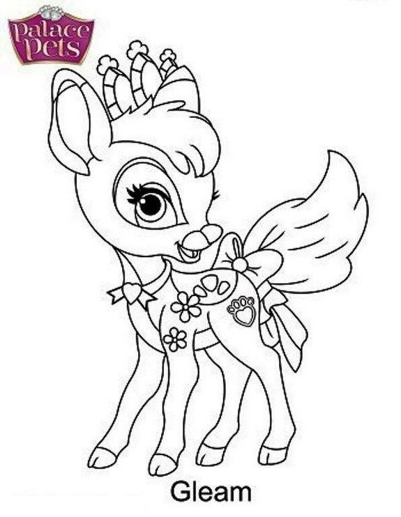 Free Princess Palace Pets Coloring Page Of Ash Princess Coloring
