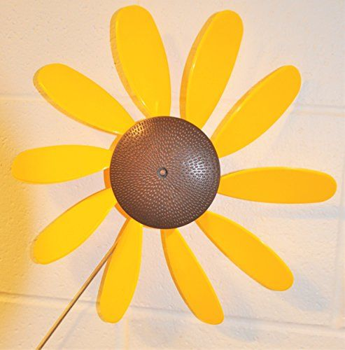 Classic Spinning Daisy X6 Case Sunflower 12 Inch Dia Details On Product Can Be Viewed By Clicking The Visit Button Patio Flowers Wind Spinners Yard Decor