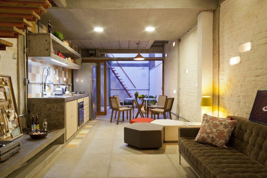 巴西長形屋公寓改造 - DECOmyplace