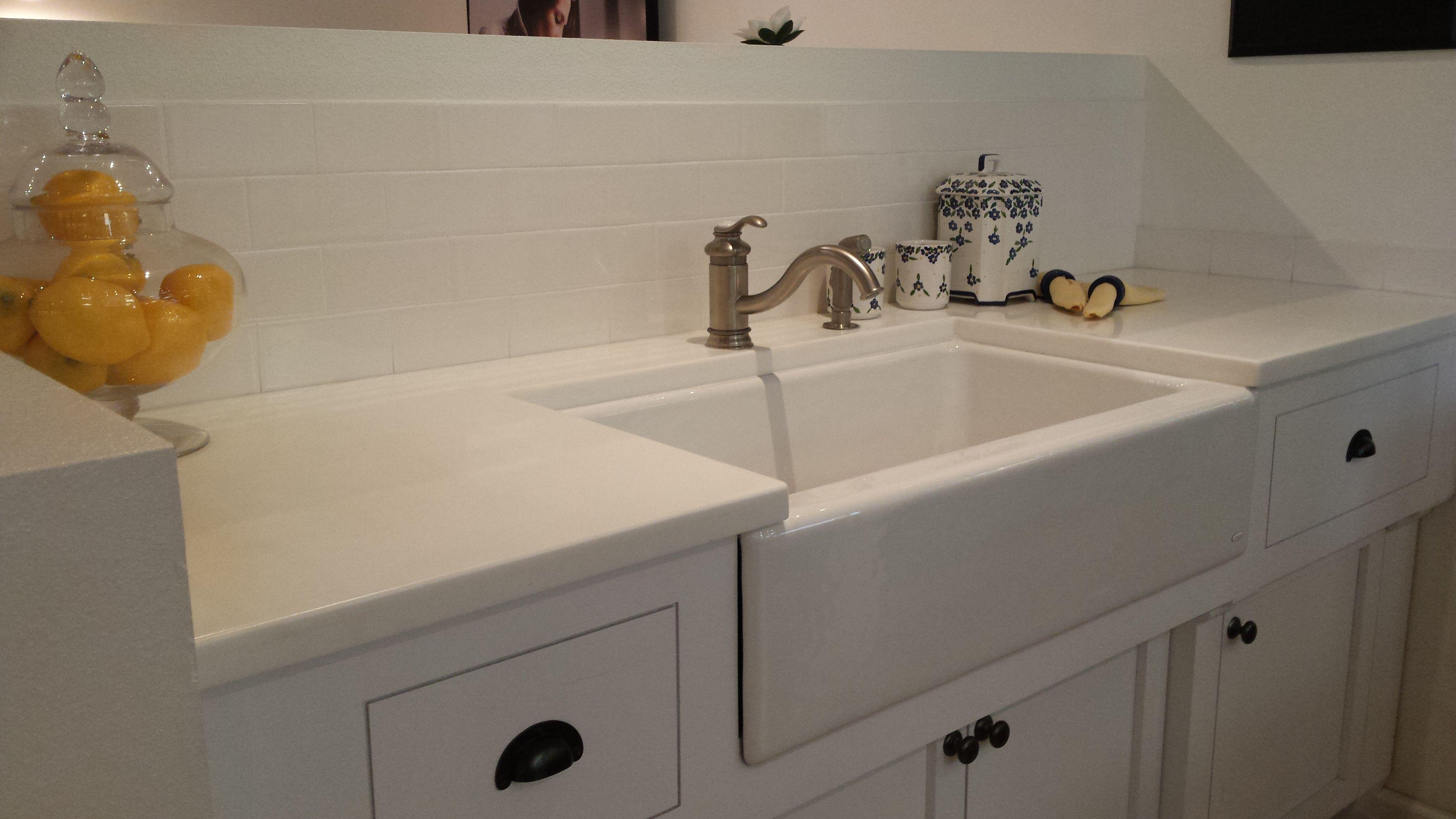 Kohler Dickinson Apron Front Sink Fairfax Faucet Sink