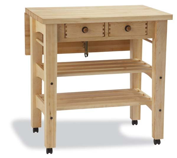 Maple Drop Leaf Kitchen Island Snow River 799 00