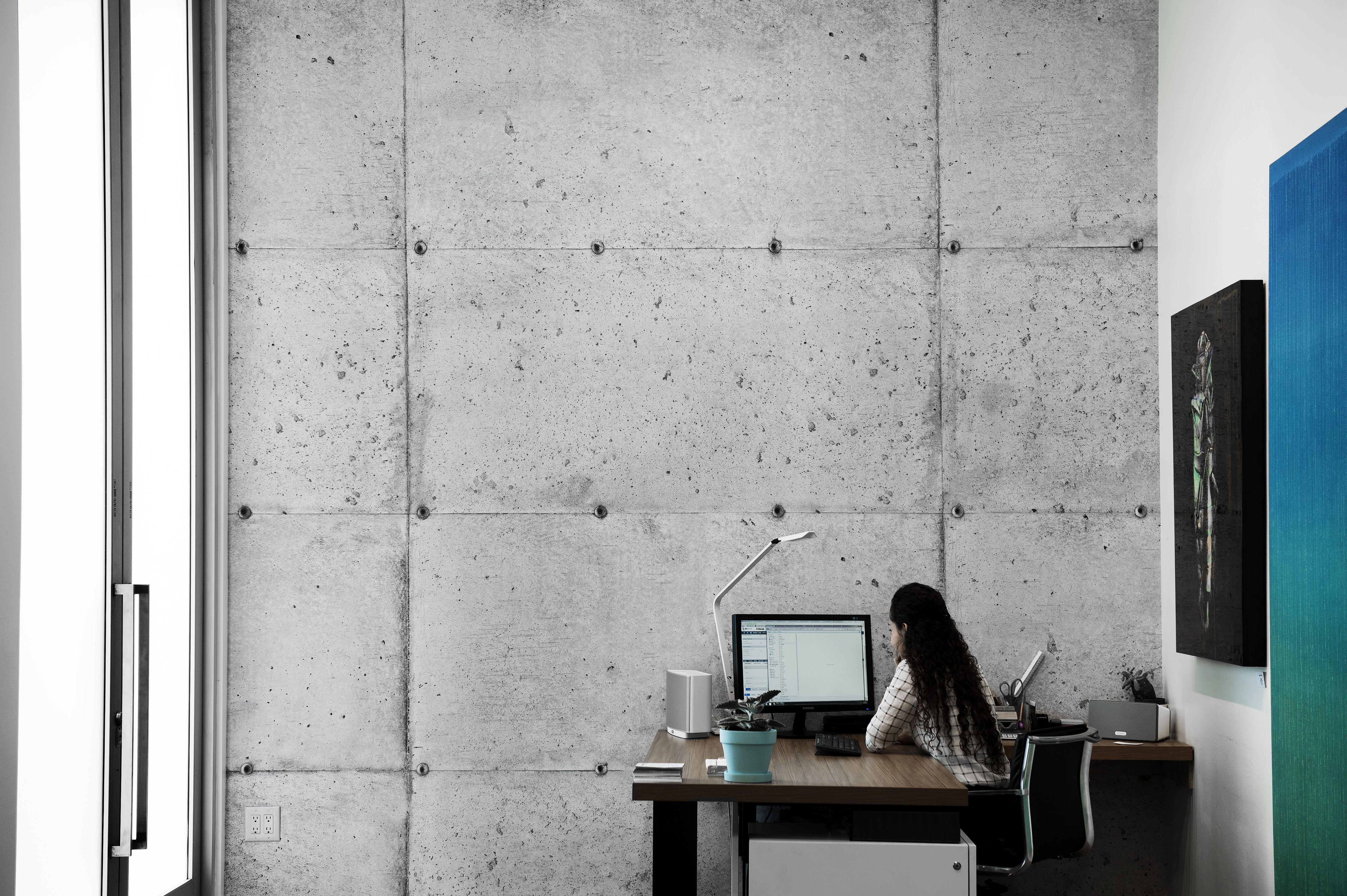 Concretewall By Tom Haga In The Resource Furniture Los Angeles Showroom
