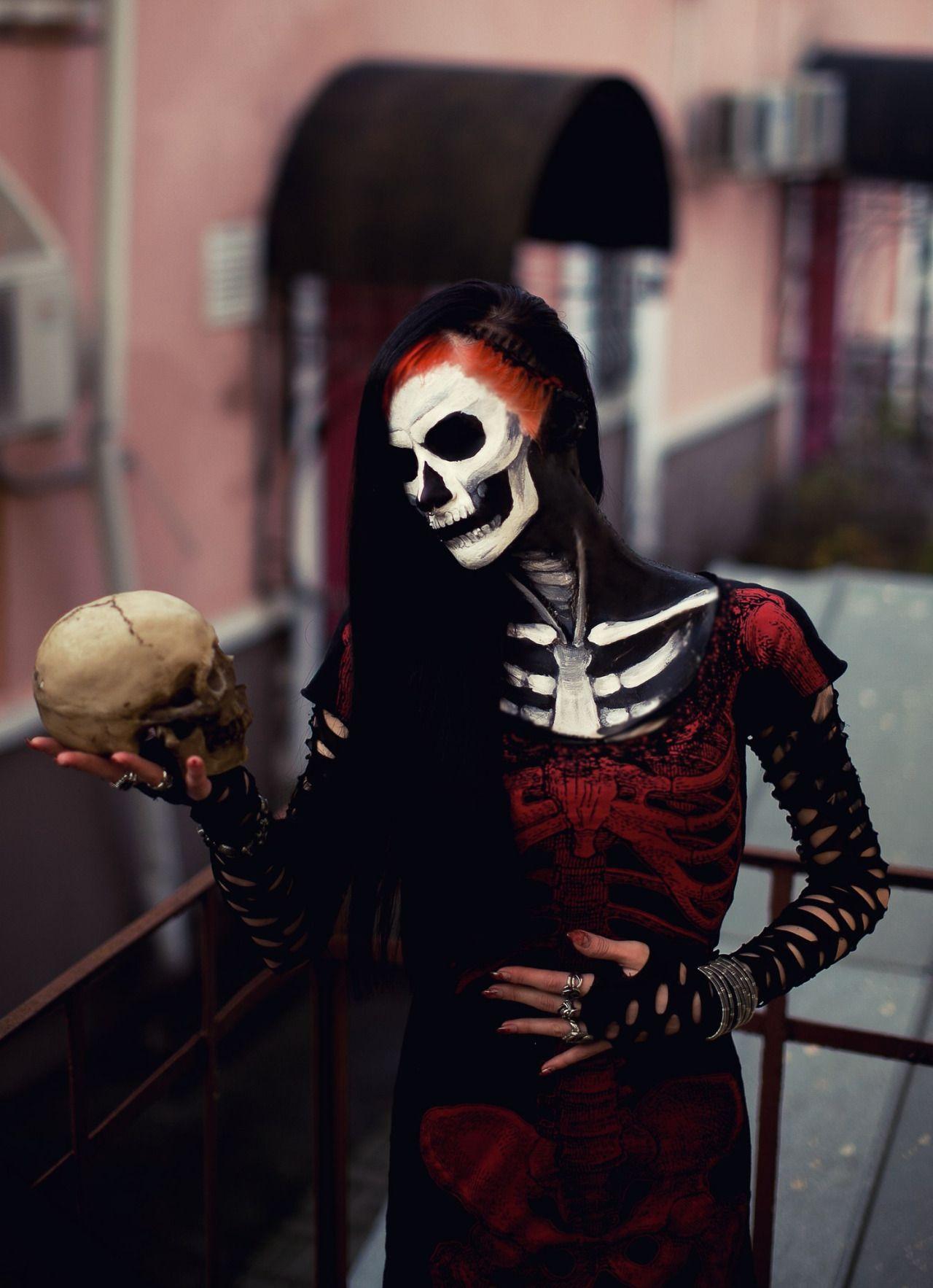 Pin de Anabella Sim en maquillaje artistico Halloween