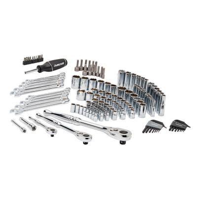 Husky Mechanics Tool Set 134 Piece H134mts The Home Depot Mechanic Tools Mechanics Tool Set Tool Set