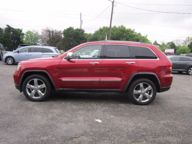 2011 Jeep Grand Cherokee Overland Edition Luxury Suv 5 7l Hemi