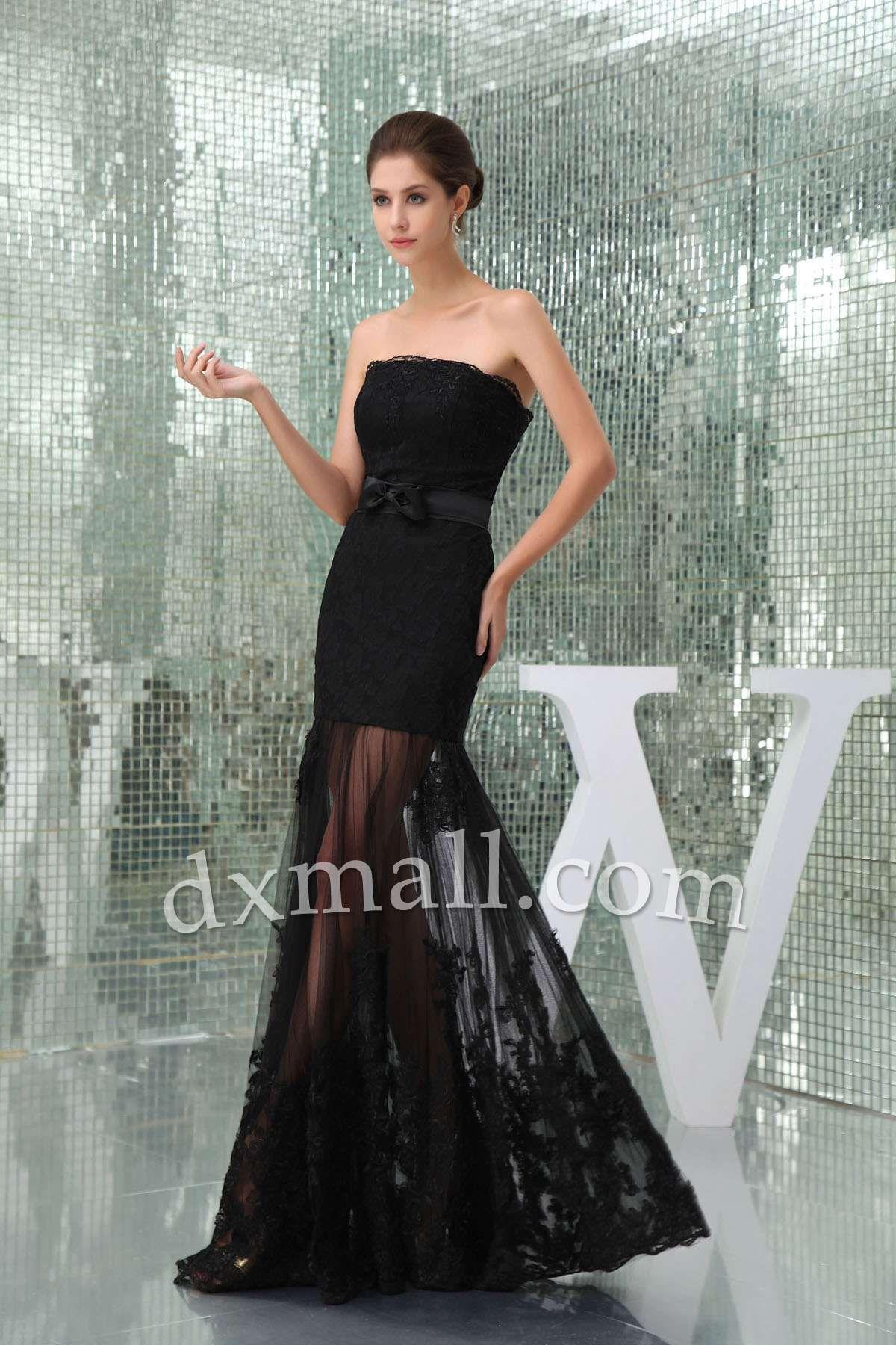 Sheathcolumn winter formal dresses strapless floor length satin