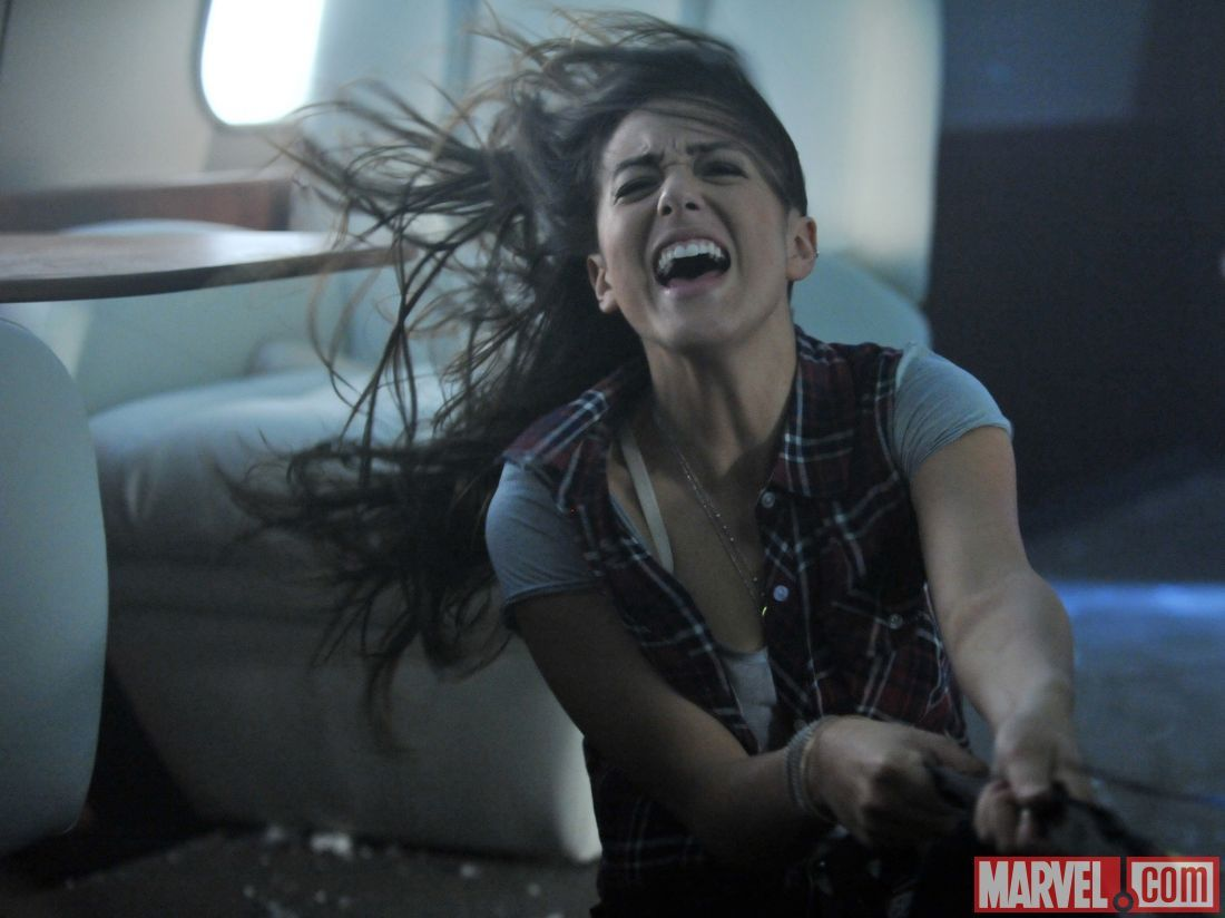 Chloe Bennet stars as Skye in Marvel's Agents of S.H.I.E.L ...