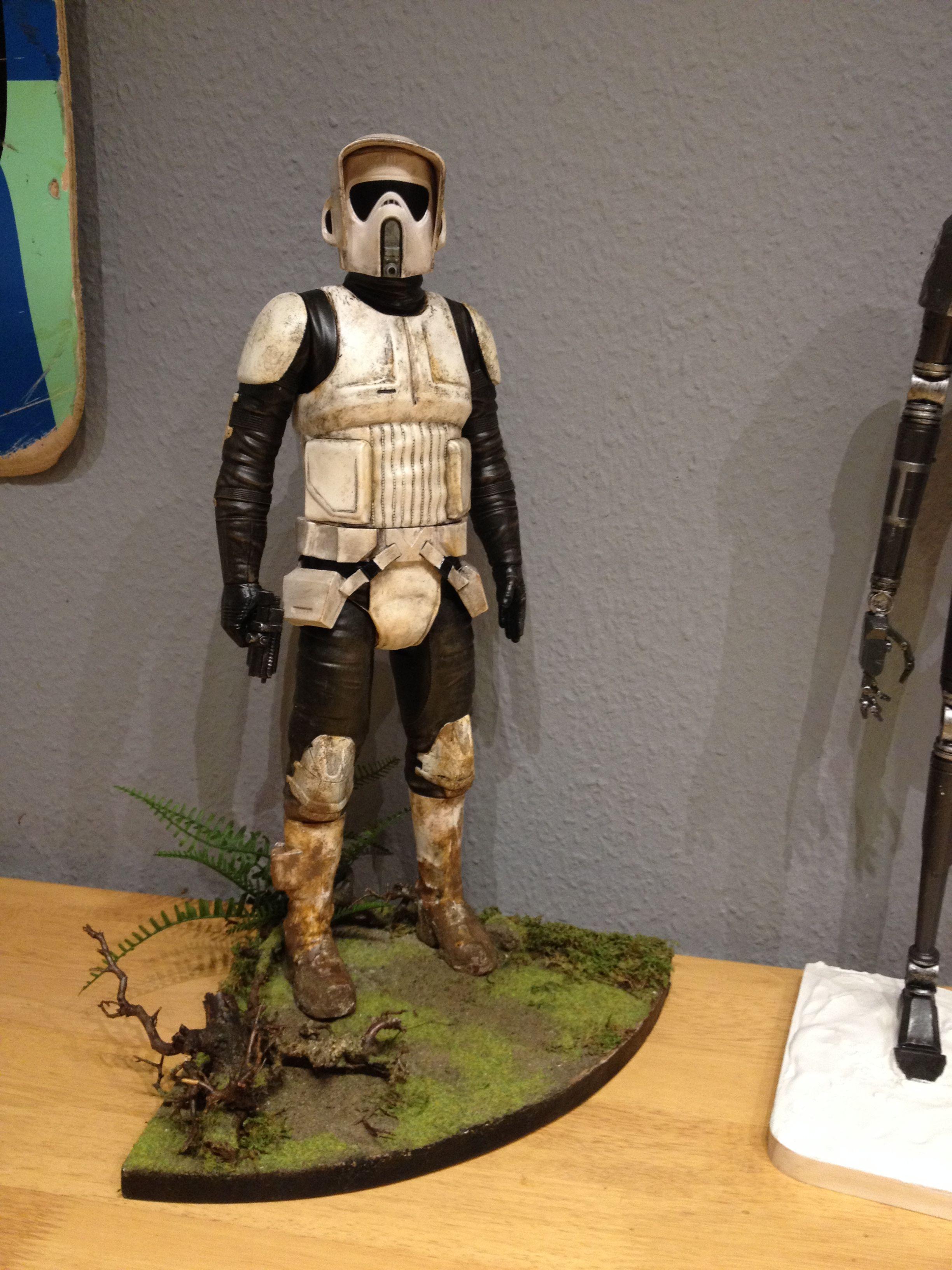 Scout Trooper Star Wars Ornament