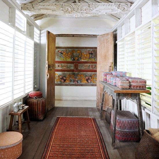 Bungalow Decorating Ideas tropical bungalow house tour   balinese, indonesian decor and bungalow