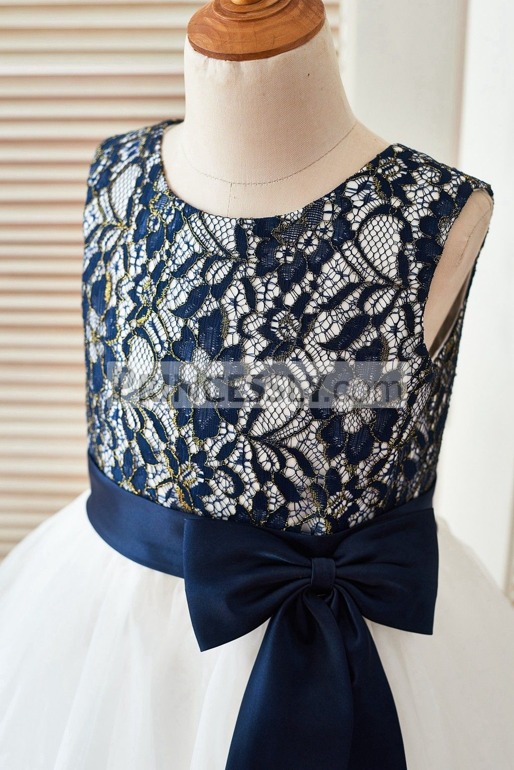 Image result for flower girl dresses navy and gold
