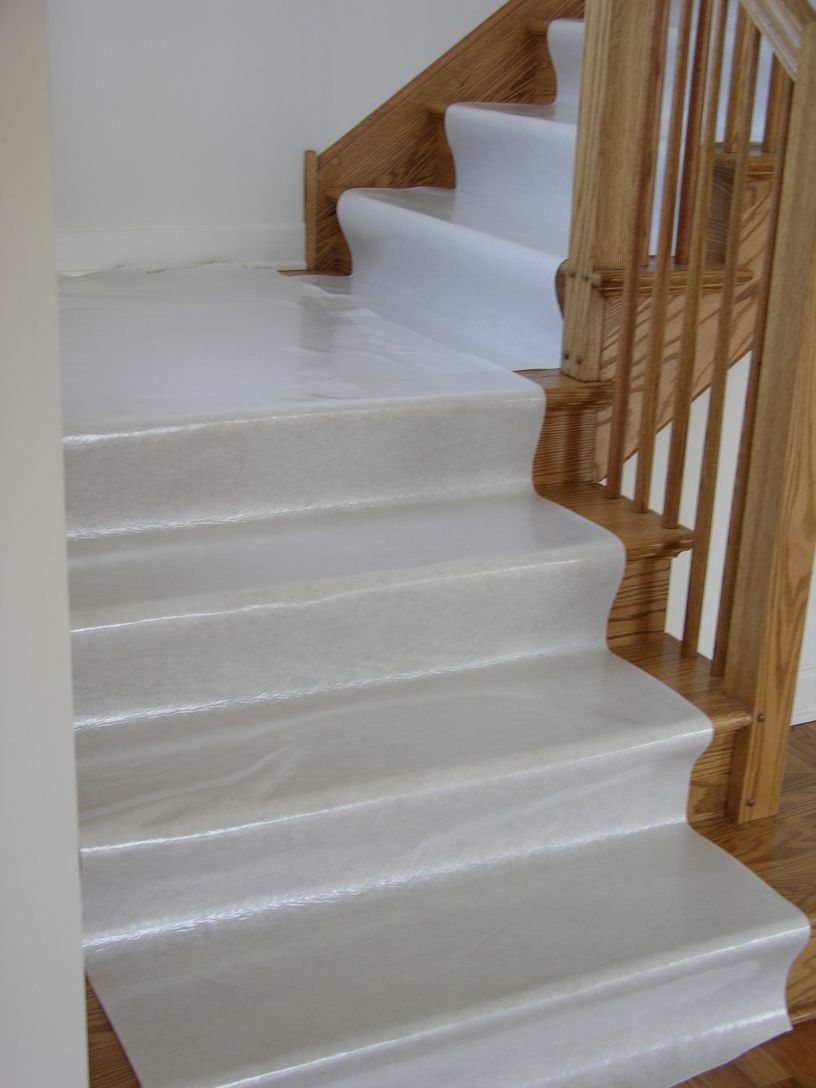 Hardwood Floor Stair Protection Finished Floor Guard