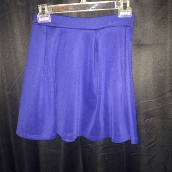 Charlotte Russe skater skirt Royal blue. Skater skirt. Great condition! Charlotte Russe Skirts Circle & Skater