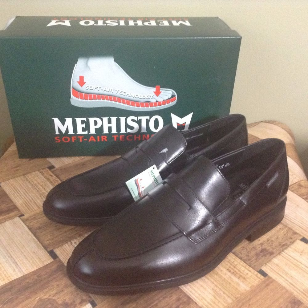 MEPHISTO MEN'S FORTINO 10.5M BLACK