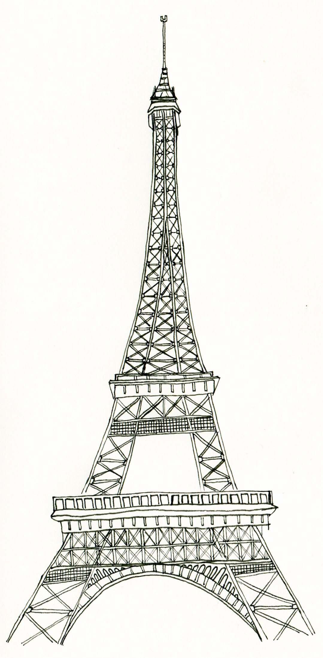 La tour eiffel tower art
