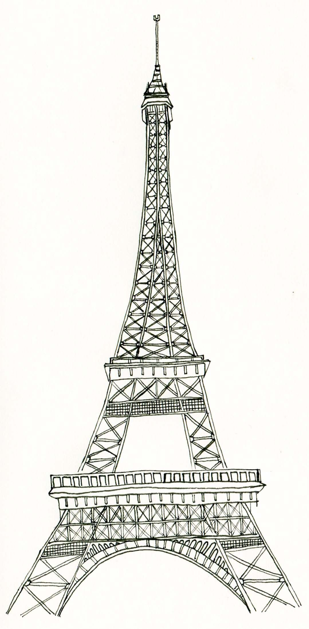 Uncategorized Eiffel Tower Pictures To Color la tour eiffel tower art and tower