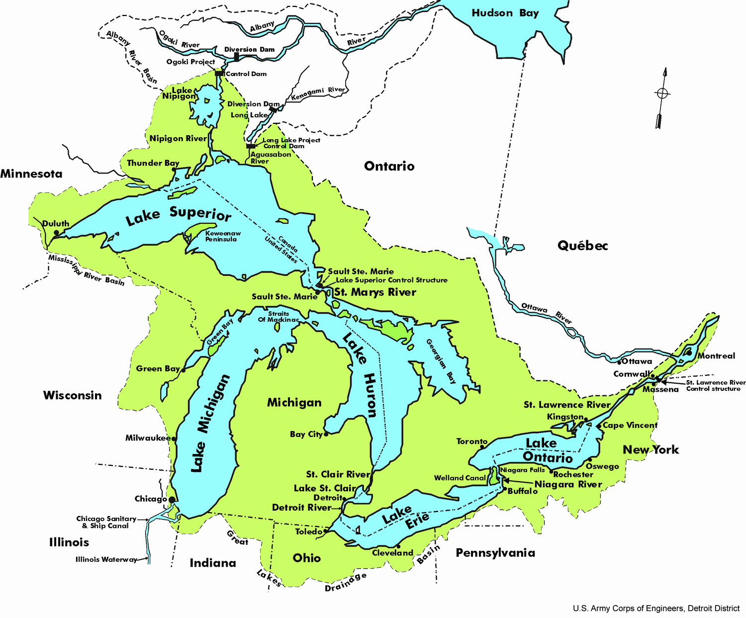 Great Lakes To Be Preserved As Well As Possible As Close