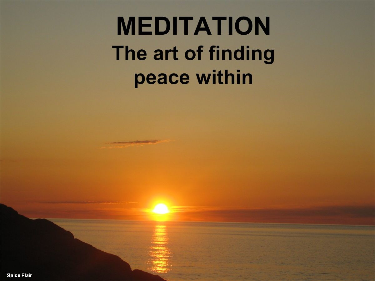 meditation (With images) | Finding peace, Meditation ...