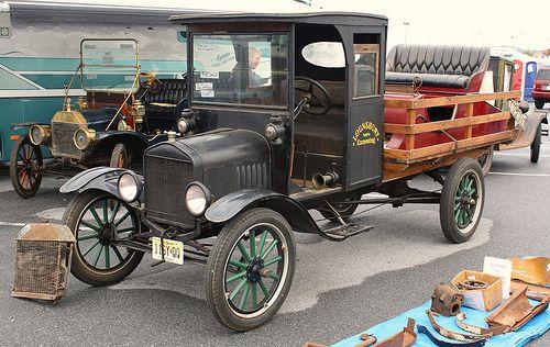 1921 Ford Model Tt Stake Truck Classic Cars Trucks Trucks