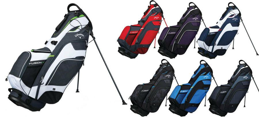 shopping really comfortable good Callaway Fusion 14 Way Stand Bag 2018 Golf Carry Bag New - Choose ...