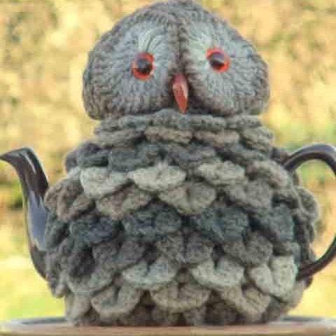 Granny Square Tea Cosy At Etsycom Owl Te Crochet Pinterest