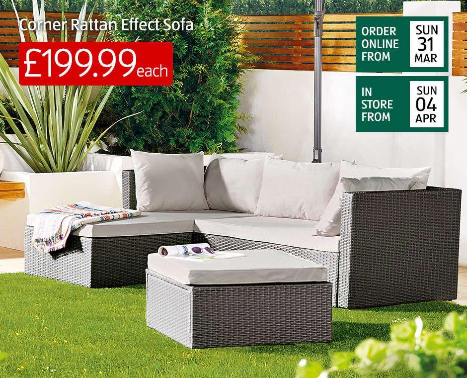 Outdoor Garden Furniture Garden Shop Aldi Aldi Uk Diy Patio Furniture Garden Furniture Rattan Patio Furniture