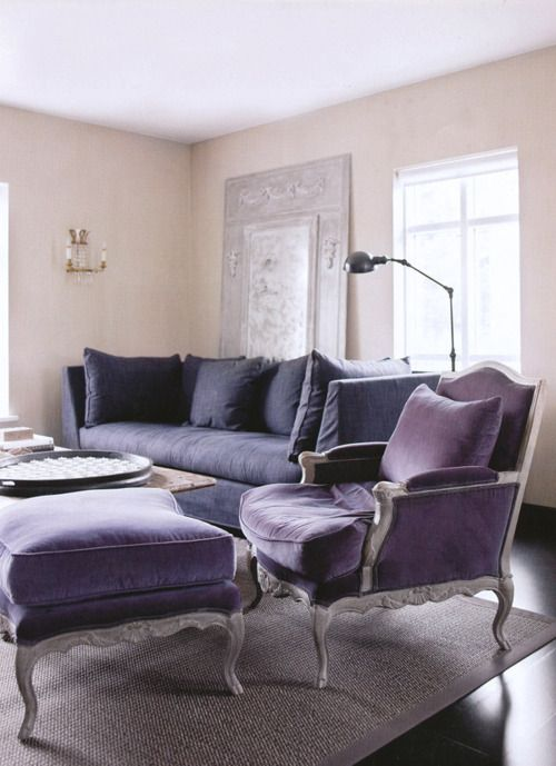 chair, ottoman, couch. | Home. | Pinterest | Sillones, Sillas y Lilas