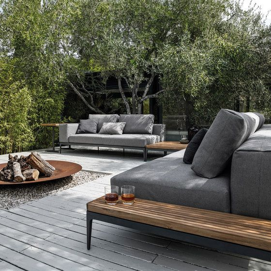feuerstelle garten feuerschale loungem bel sofa holz. Black Bedroom Furniture Sets. Home Design Ideas