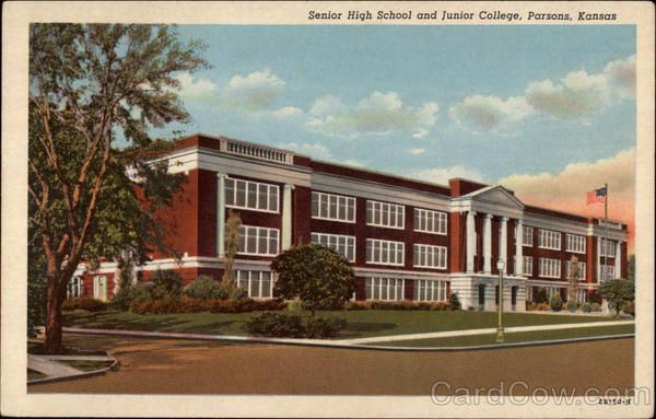 Jr. High (when I went to it) Parsons, KS