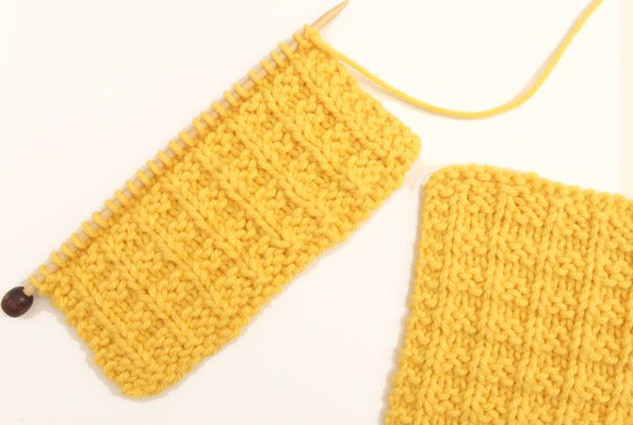 How to Knit the Waffle Stitch   Pinterest   Dos agujas y Tejido