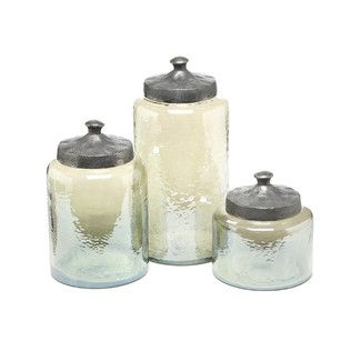 3 Piece Round Luster Canister Set | ACCESSORIES | Pinterest ...
