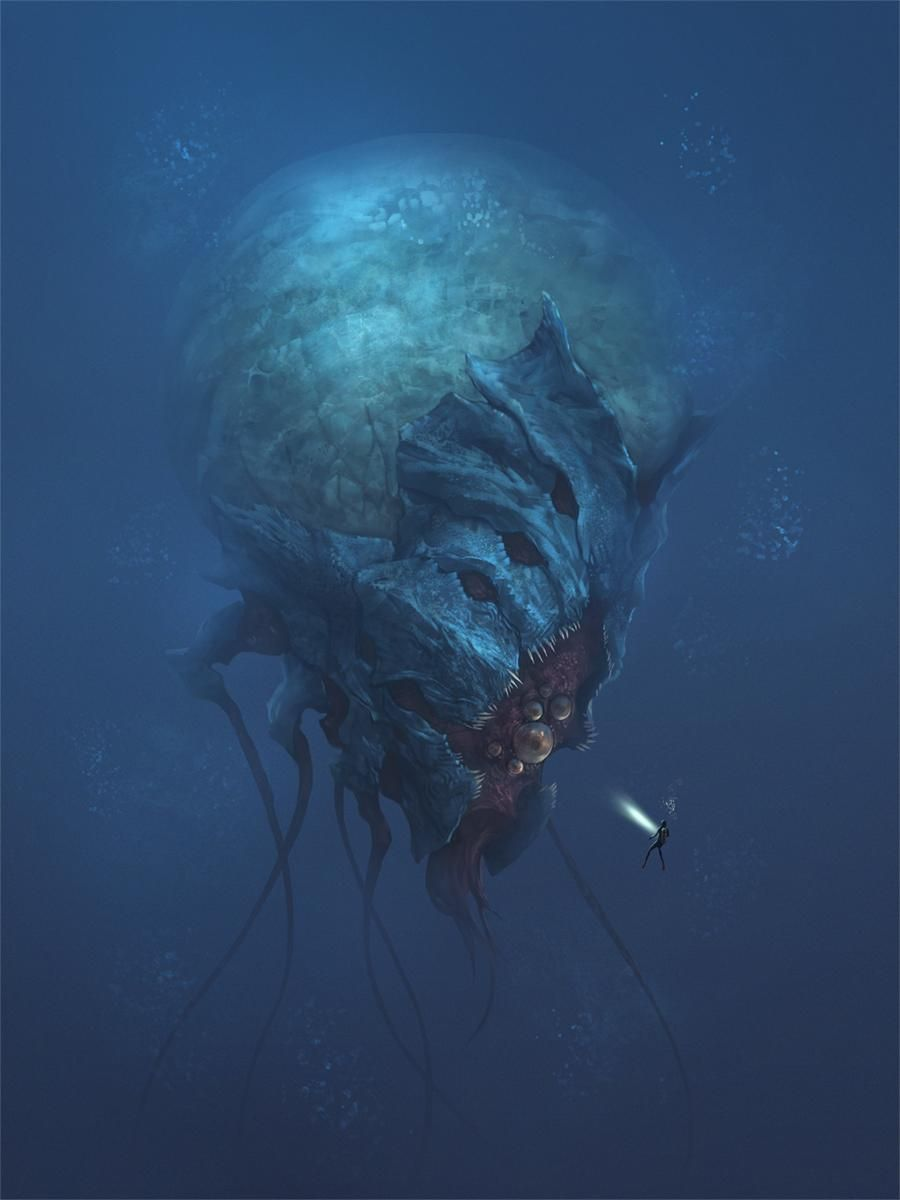Terrors of the Deep by Bacius9